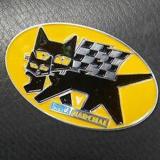 VINTAGE SEV MARCHAL FOG LIGHTs bulb HISTORY FOR SALE CAT LOGO CAR BADGE VESPA