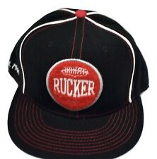 Stall & Dean Mens Rucker Basketball Respect Tradition Fitted Hat Cap New