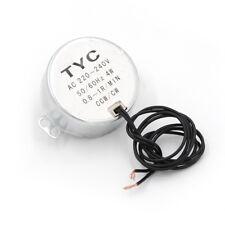 TYC-50 AC 220V 50/60Hz 4W CW/CCW 0.8-1RPM Synchronous Geared Motor <GX