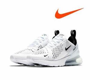 NIKE WOMEN'S Air Max 270 White,Fashion Sneakers,Shoes AH6789-100