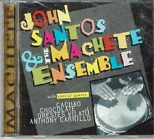 John Santos & Machete Ensemble Con (Cachao-Chocolate-Vilato) BRAND NEW SEALED CD