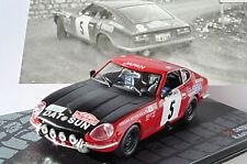 DATSUN 240Z #5 AALTONEN TODT RALLYE MONTE CARLO 1972 IXO ALTAYA 1/43 RALLY