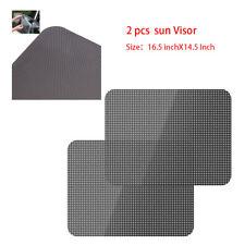 2xCar Window Visor Auto UV Block Cover Sunshade Folding Front Rear Static Shield