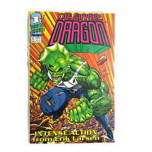 Savage Dragon Comic Book 1 3 4 5 6 7 8 9 VF Chose Bagged Boarded Blood and Guts