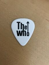 GUITAR PICK - THE WHO - PETE TOWNSHEND - Hits 50 Tour LAST ONE! RARE!