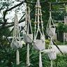 Large Pot Holder Hemp Rope Braided Macrame Plant Hanger Hanging Planter Basket
