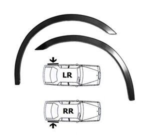 ALFA ROMEO 159 wheel arch trims 2 pcs Rear Black Matt styling wing kit 2005-2011