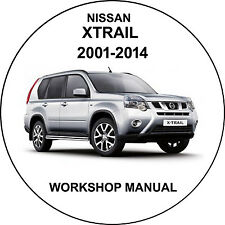 nissan xtrail 2001-2014 Workshop Service Repair Manual