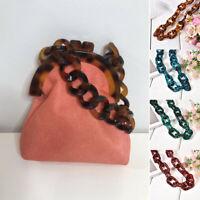 Women Crossbody Bag Replacement Strap Chain Handbag Detachable Resin Satchel NEW