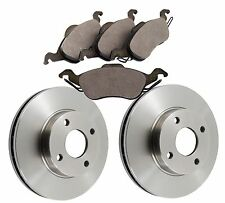 Ford Focus 98 - 2005 Front Brake Discs and Brake Pads 258mm Vented Discs