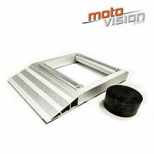 Support rotatif à rouleaux pour roue de moto