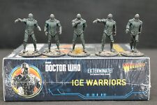 Doctor Who Ice warriors expansion with well painted miniatures