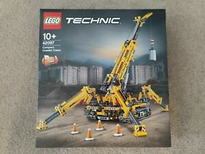 Brand New LEGO Technic: Compact Crawler Crane (42097) Retired