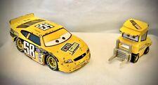 Disney Pixar Cars - OCTANE GAIN #58 Racer & Pitty - Diecast Metal 1:55