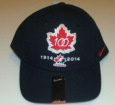 Канада 2015 мира среди юниоров хоккей 100-юбилей DF шерсти Classic черный Hat Cap