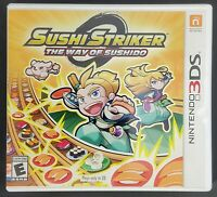 Authentic Sushi Striker: The Way of Sushido 3DS Game Case w/ Manuals (No Game)