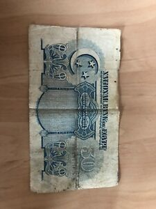 National bank of Egypt 50PIASTRES 1941