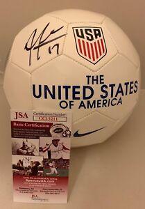Jozy Altidore signed White Nike Team USA Soccer Ball autographed Toronto FC JSA