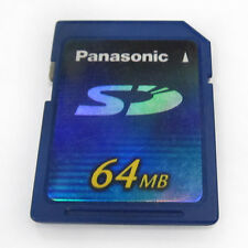 64M Panasonic Small capacity SD digital card Flash card Memory card 64MB SD card