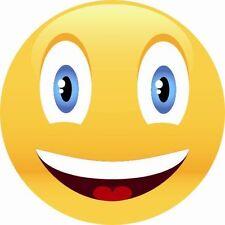 Aufkleber Smily Face Smiley Smilie 9 x 9 cm Autoaufkleber Sticker