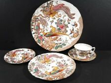 Royal Crown Derby OLDE AVESBURY 5 pc Place Setting Dinner Salad B&B Cup/Saucer