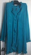 New Apt 9 Plus size 1X Women Open Front Long Cardigan ruffled sweater cardigan