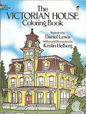 The Victorian House Coloring Book - household tour with informative text NEW PB