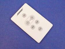 Original White Bose SoundDock I Remote for SoundDock Series 1 (US Seller)