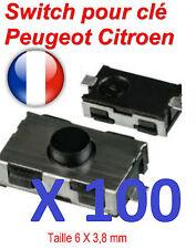 100 Switch bouton  clé télécommande pour Peugeot 206 307 406 Citroen xsara C3 C5