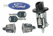 Ford RANGER 2001-2011 P/U - Ignition Lock & Chrome Door Locks with 2 Keys -New