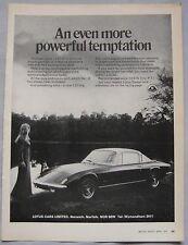 1971 Lotus +2 S130 Original advert No.1