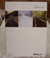 **NEW** 2007 Subaru Dealer Product Brochure Full Line