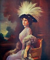 Hanger Miss Devoyod Cover Polychrome Comoedia Shown N° 15 1909