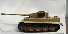 """1/6 Scale 12"""" Diecast  Panzerkampfwagen VIAusf·E Tiger I Tank Sand"""