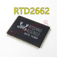 1PCS RTD2G62 RTD26G2 RTDZ662 RTD266Z RTD 2662 RTD2662-GR RTD2662 QFP128 IC Chip