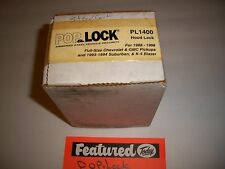 "POP & LOCK HOOD LOCK 88-98 CHEVY 93-94 GMC PU SUBURBAN K-5 BLAZER  PL1400  ""NEW"""