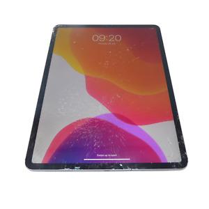 "Apple iPad Pro 12.9"" A1895 (3rd Gen) 256GB / Wi-Fi + Cellular / Cracked Screen"
