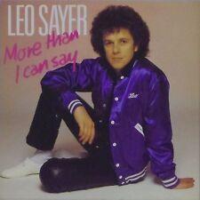 """Leo Sayer """"más de lo que puedo decir"""" Reino Unido Foto Manga 7"""" solo #2"""