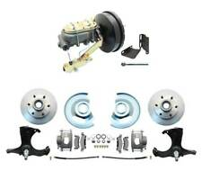 """1963-1966 GMC CHEVY Truck Disc Brake Kit  6-LUG Stock Height 2WD 9"""" Booster"""
