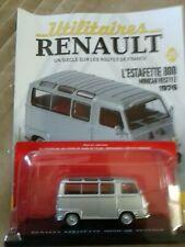 UTILITAIRES RENAULT 1/43  N°25 L'Estafette 800 Minicar Restyle(1976)+livret
