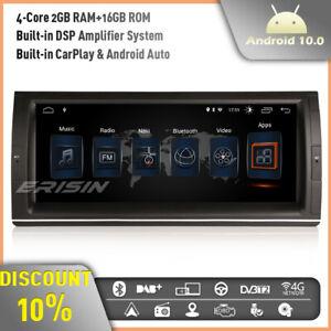 "CarPlay 10.25"" Android 10 Car Stereo Sat Nav BMW 5er E39 E53 X5 Range Rover L322"