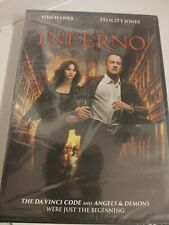 New Inferno DVD rated PG-13 Tom Hanks action movie