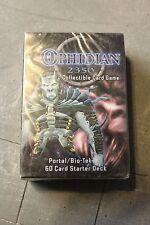 Portal / Bio-Tek Starter Deck for Ophidian 2350 Collectible Card Game NEW! Fleer