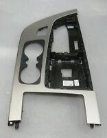 Audi SQ7 4M Mittelkonsole Einsatz Dekor Alu gebürstet 4M1864241F Orig. 6887
