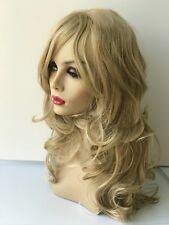 New High Quality Women Fashion Synthetic Wavy Wig 18 inches
