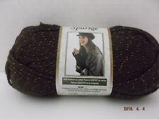 Bernat Satin Sparkle Yarn ~ Bronze ~ 80 Grams ~ 160 Yards ~ #4 Medium