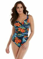 Miraclesuit Swim Sanibel Swimsuit in Samoan Sunset - firm control swimwear