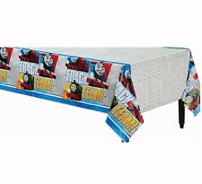 Thomas the Tank Engine Table Cover ~ Train and Friends Birthday Party Decoration