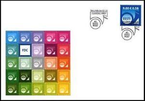 2377 - Estonia - 2010 - Definitive Post Horn 9Kr - FDC - Lemberg-Zp