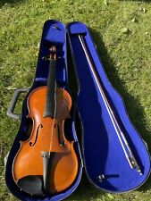 Beautiful Old French Violin Labelled 4/4